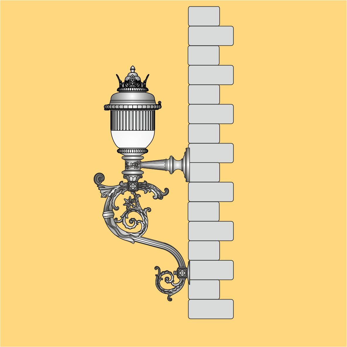 stylowa oprawa naścienna, oświetlenie domu, oświetlenie ogrodowe, oprawa LED